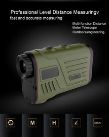 China Handheld Telescope Rangefinder Battery Power For Long Range Shooting supplier