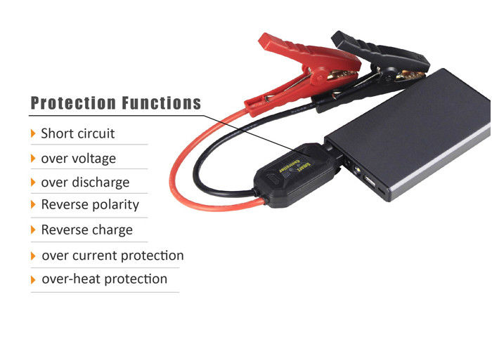 Fcc Rohs Approve Rechargeable Jump Starter Portable Battery Charger